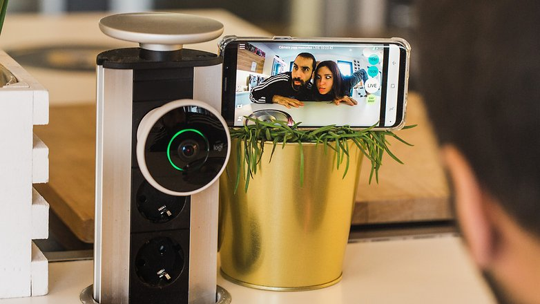 AndroidPIT Logitech Circle 2 security cam 1971