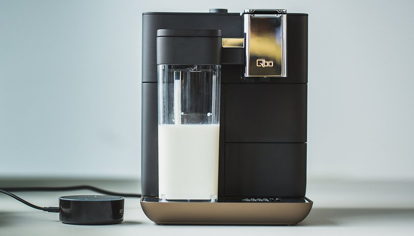 Qbo You-Rista review: the connected coffee machine with Alexa
