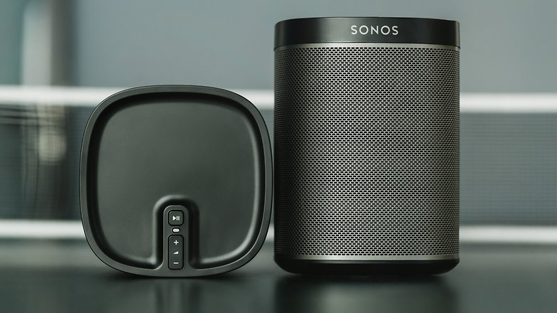 sonos one und play 1 im test smart home funktionen im vergleich androidpit. Black Bedroom Furniture Sets. Home Design Ideas