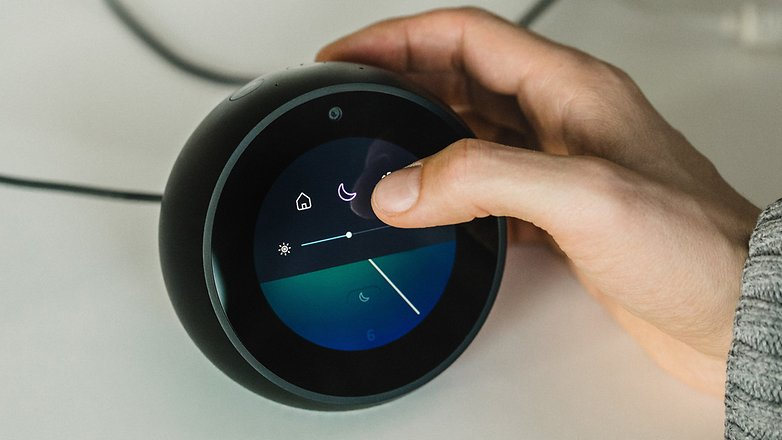 amazon echo spot review an ai video assistant for your. Black Bedroom Furniture Sets. Home Design Ideas