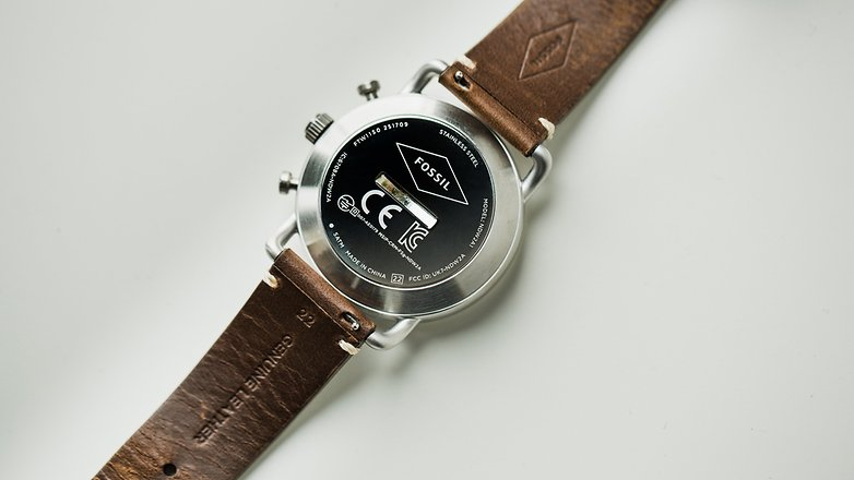 AndroidPIT Fossil q hybrid smartwatch 8727