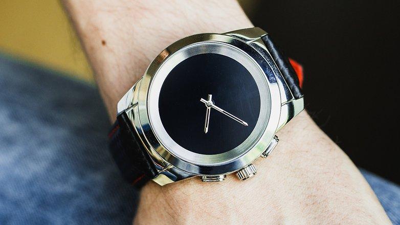 AndroidPIT mykronoz zetime smartwatch hybrid watch 4923
