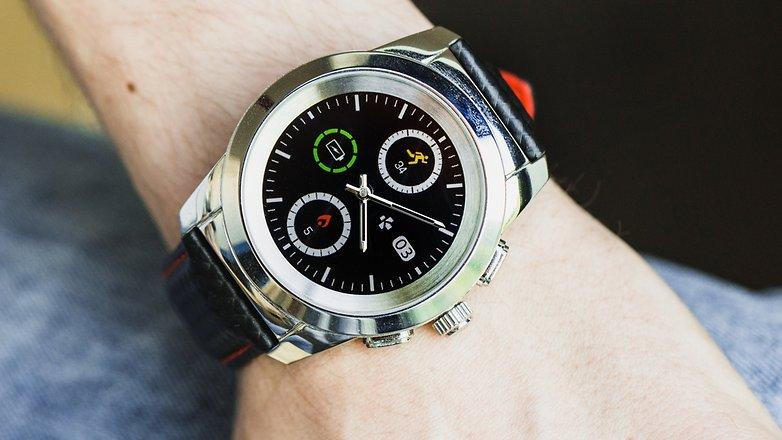 AndroidPIT mykronoz zetime smartwatch hybrid watch 4924