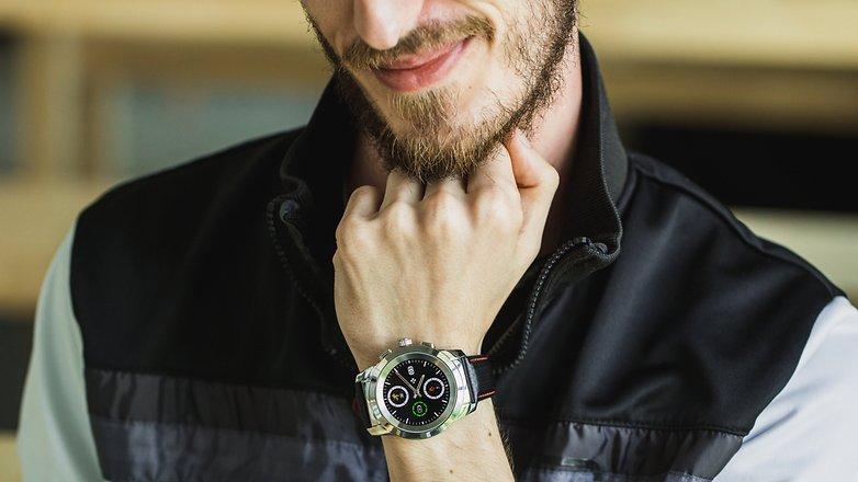 AndroidPIT mykronoz zetime smartwatch hybrid watch 4938