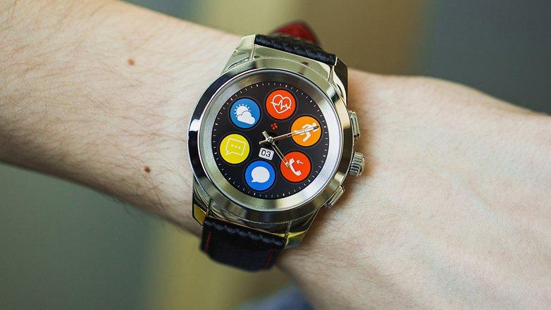 AndroidPIT mykronoz zetime smartwatch hybrid watch 4951