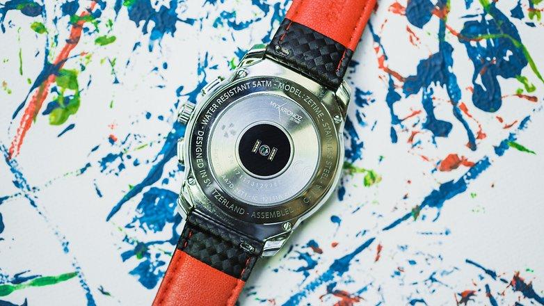 AndroidPIT mykronoz zetime smartwatch hybrid watch 4966