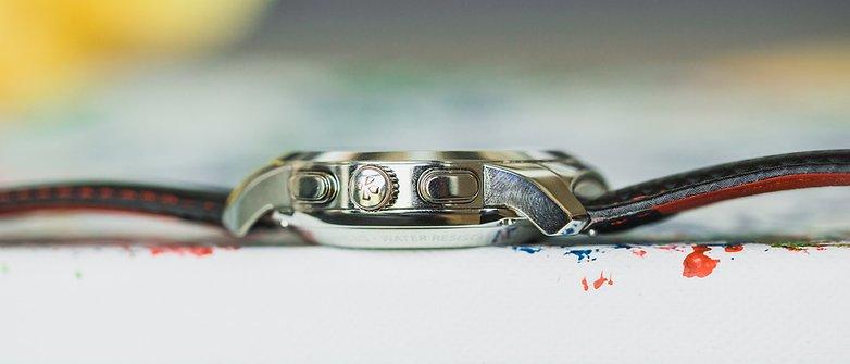 AndroidPIT mykronoz zetime smartwatch hybrid watch 4975