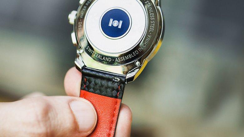 AndroidPIT mykronoz zetime smartwatch hybrid watch 4982
