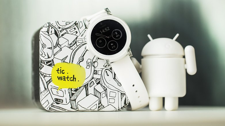 AndroidPIT ticwatch e ticwatch s smartwatch android wear wearables 8089
