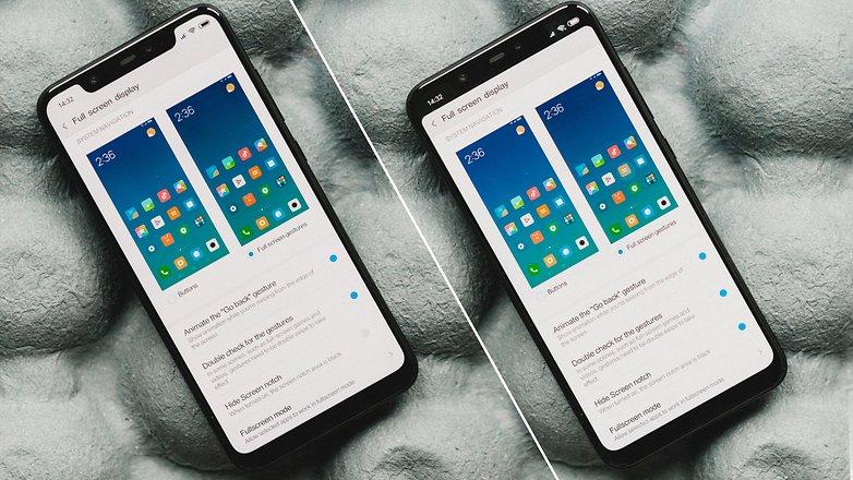 AndroidPIT Xiaomi Mi 8 8285
