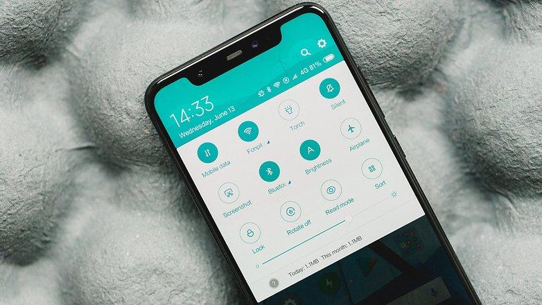 AndroidPIT Xiaomi Mi 8 8295