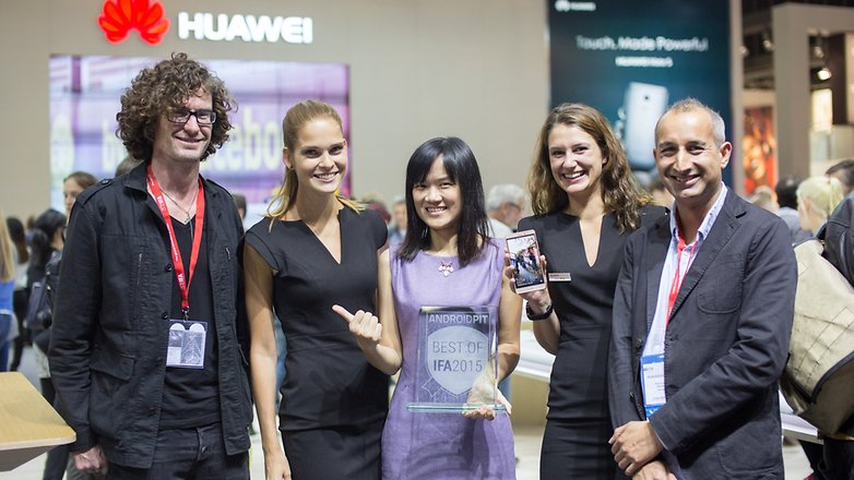 ANDROIDPIT BEST OF IFA2015 AWARD HUAWEI 1
