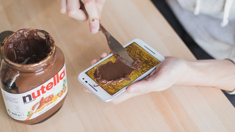 AndroidPIT Android N Nutella 1