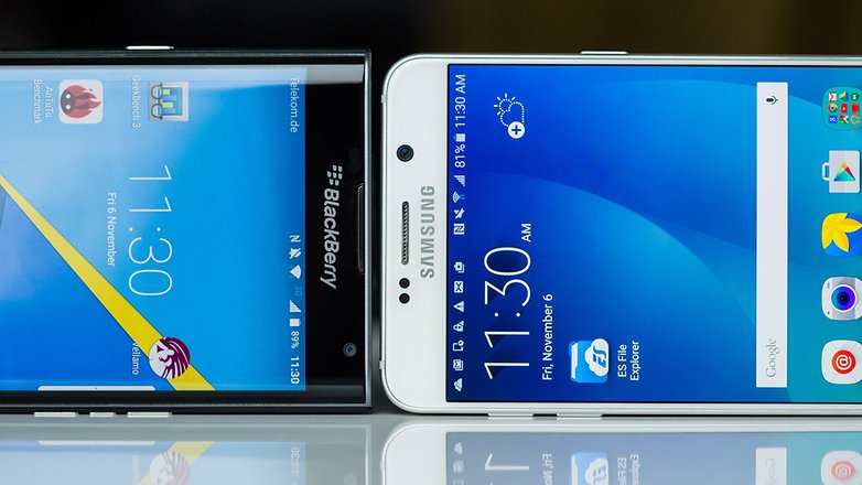 BlackBerry Priv vs Samsung Galaxy Note 5 10