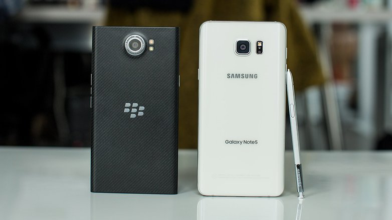 BlackBerry Priv vs Samsung Galaxy Note 5 2