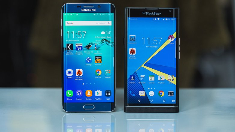 androidpit BlackBerry Priv vs Samsung Galaxy S6 Edge Plus 1