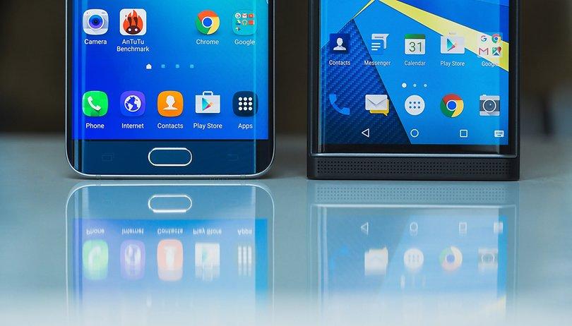 BlackBerry Priv vs Galaxy S6 edge+ : un « S6 edge » en mieux et plus sécurisé