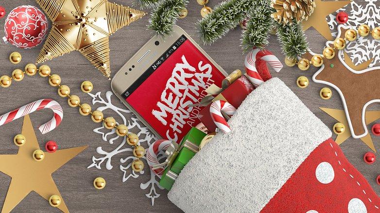 Samsung Galaxy S6 edge Happy Christmas