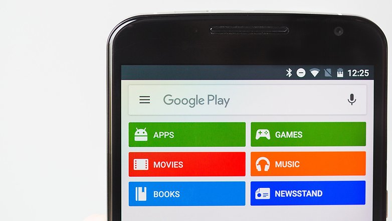 AndroidPIT Google Play Store new search bar font
