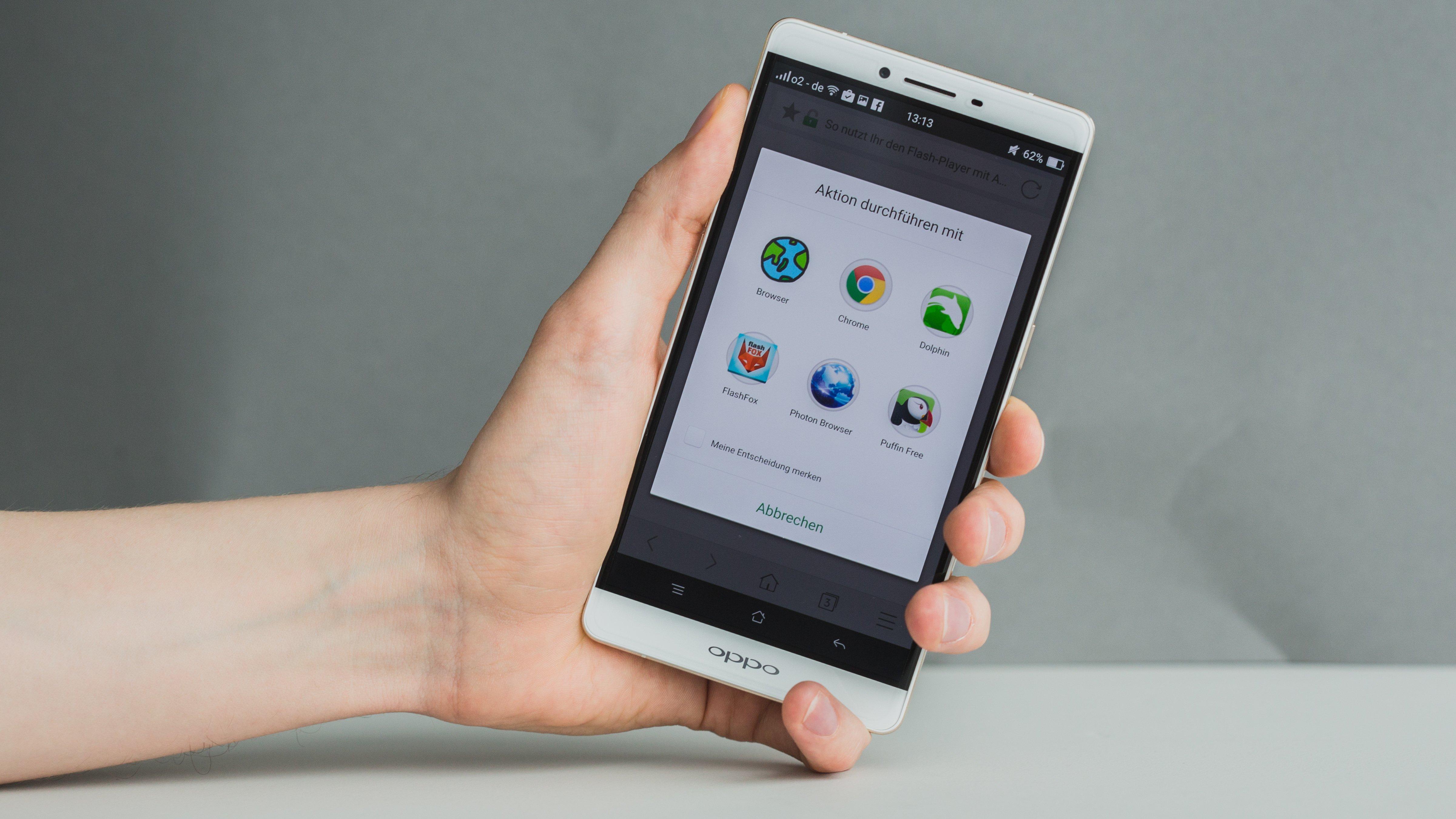 So nutzt Ihr den Flash-Player mit Android