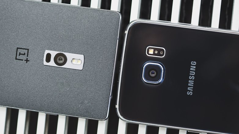 androidpit samsung Galaxy S6 vs OnePlus 8