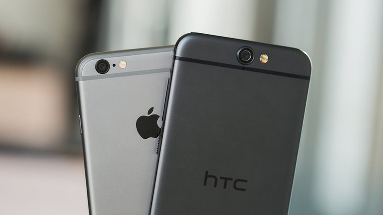 androidpit htc one a9 vs iPhone 6 2