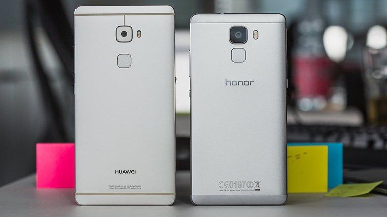 Honor 7 vs Huawei Mate S 2