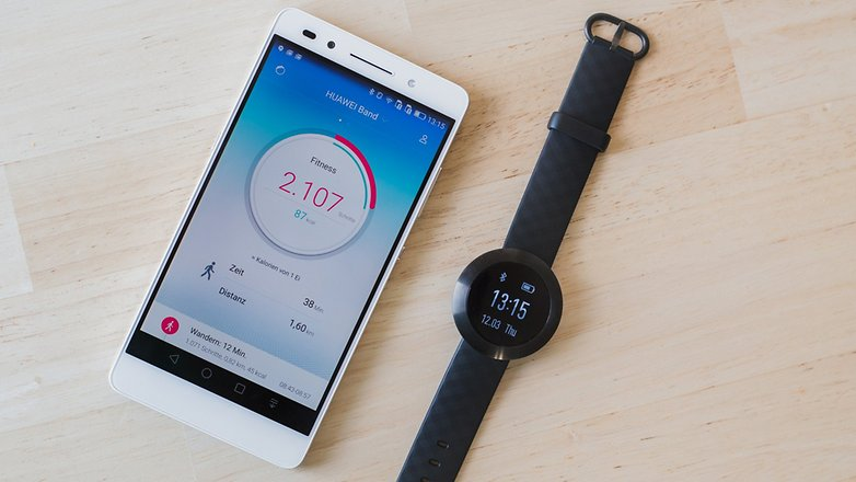 AndroidPIT Honor Band Z1 13