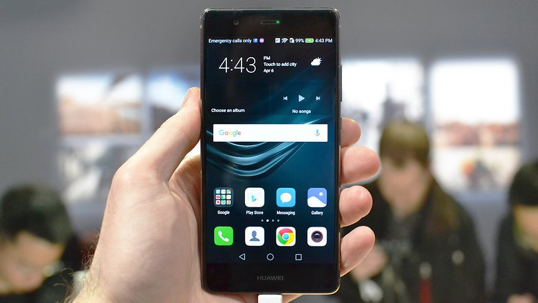 Androidpit Huawei P9 Hands on LONDON front 2