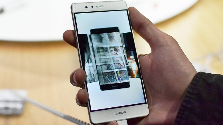 Androidpit Huawei P9 Hands on LONDON front