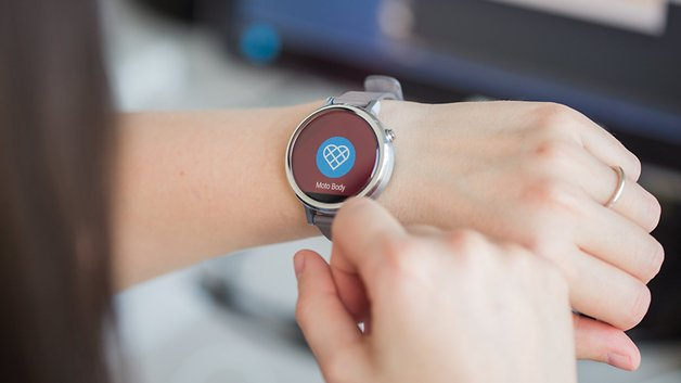 Moto Body est une application exclusive à la Moto 360.