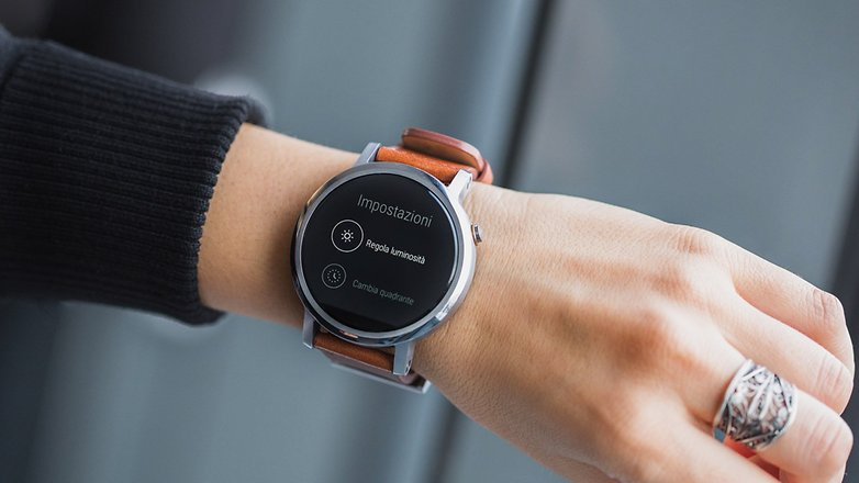 Androidpit ITA smartwatch MOTO 360 2015 functions 1