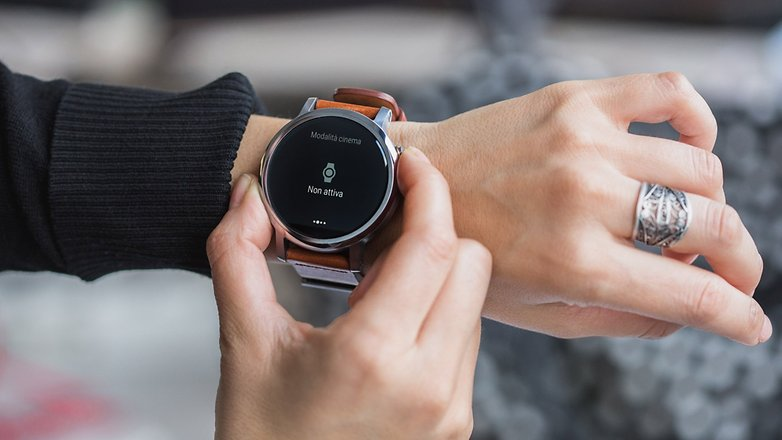 Androidpit ITA smartwatch MOTO 360 2015 functions 5