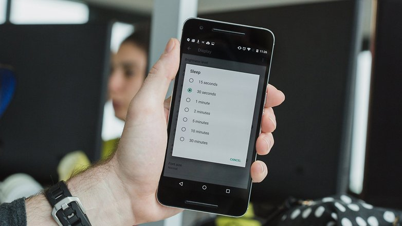 AndroidPIT Nexus 6P battery tips 6