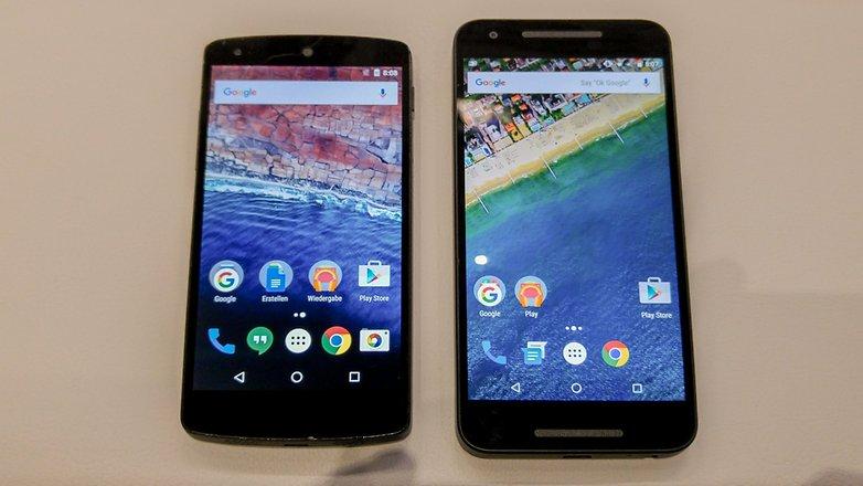 Nexus 5X vs Nexus 5 1