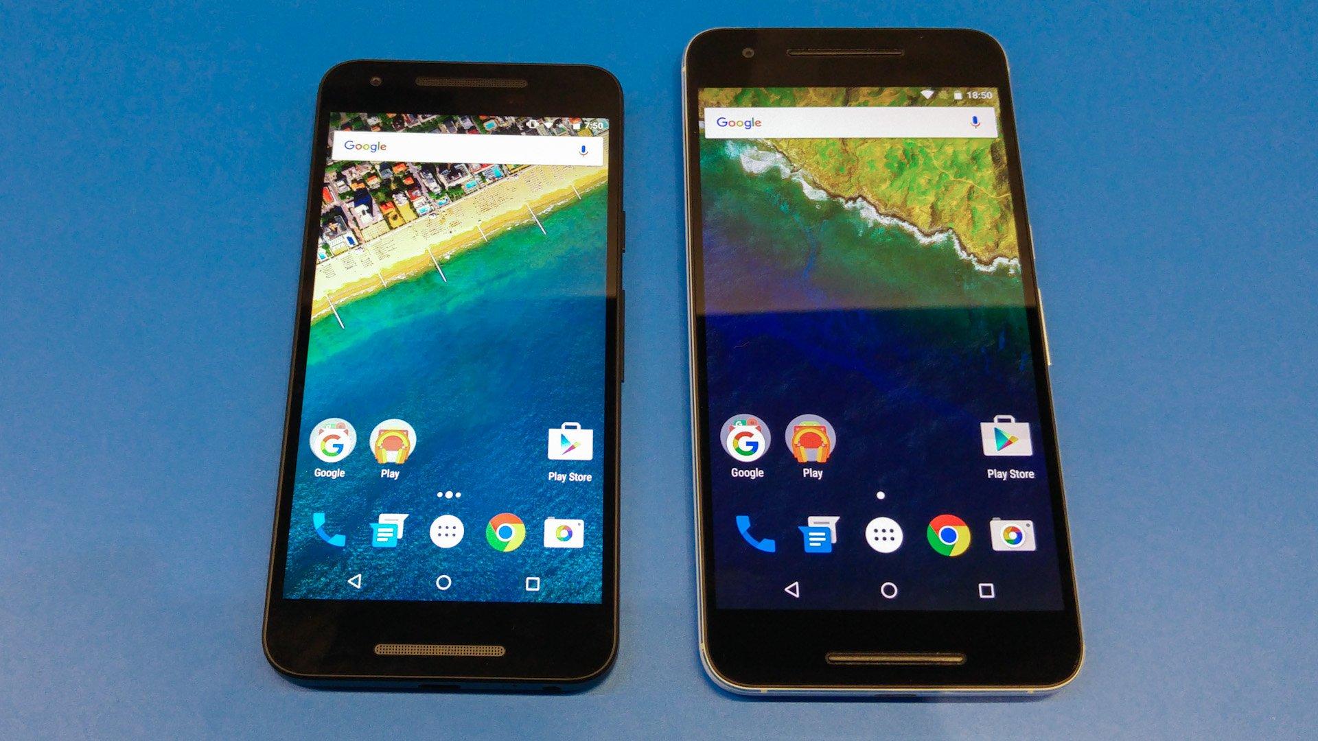Nexus 6p Screen Size