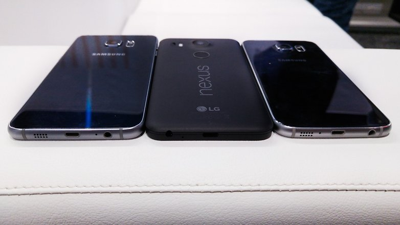 Nexus 5X vs Samsung S6 edge plus 1