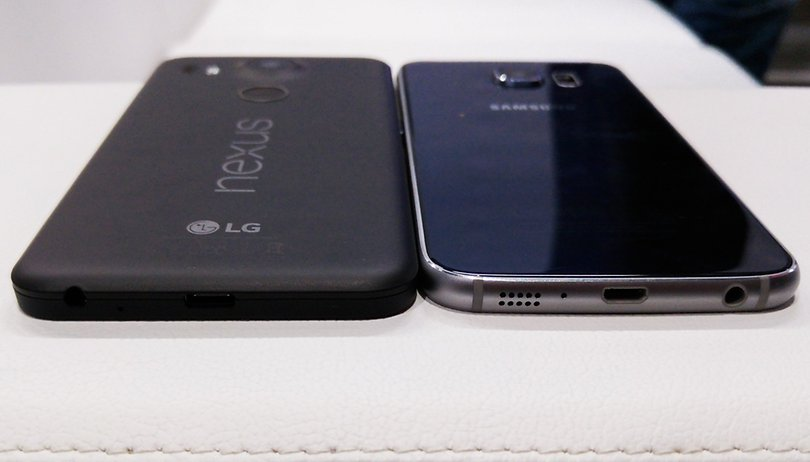 Test comparatif : Google Nexus 5X vs Samsung Galaxy S6