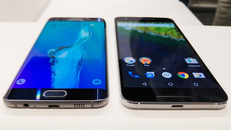 Nexus 6P vs Samsung S6 edge plus 7