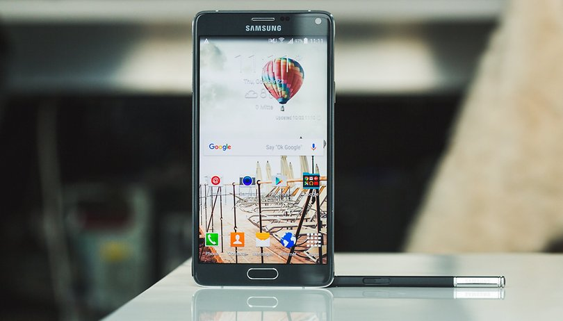 This is what Android Marshmallow looks like on the Galaxy Note 4