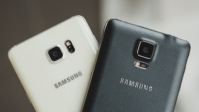 samsung galaxy note 6 vs galaxy note 4 comparison high notes