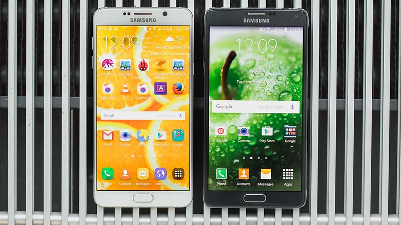 androidpit samsung Note4 vs Note5 12