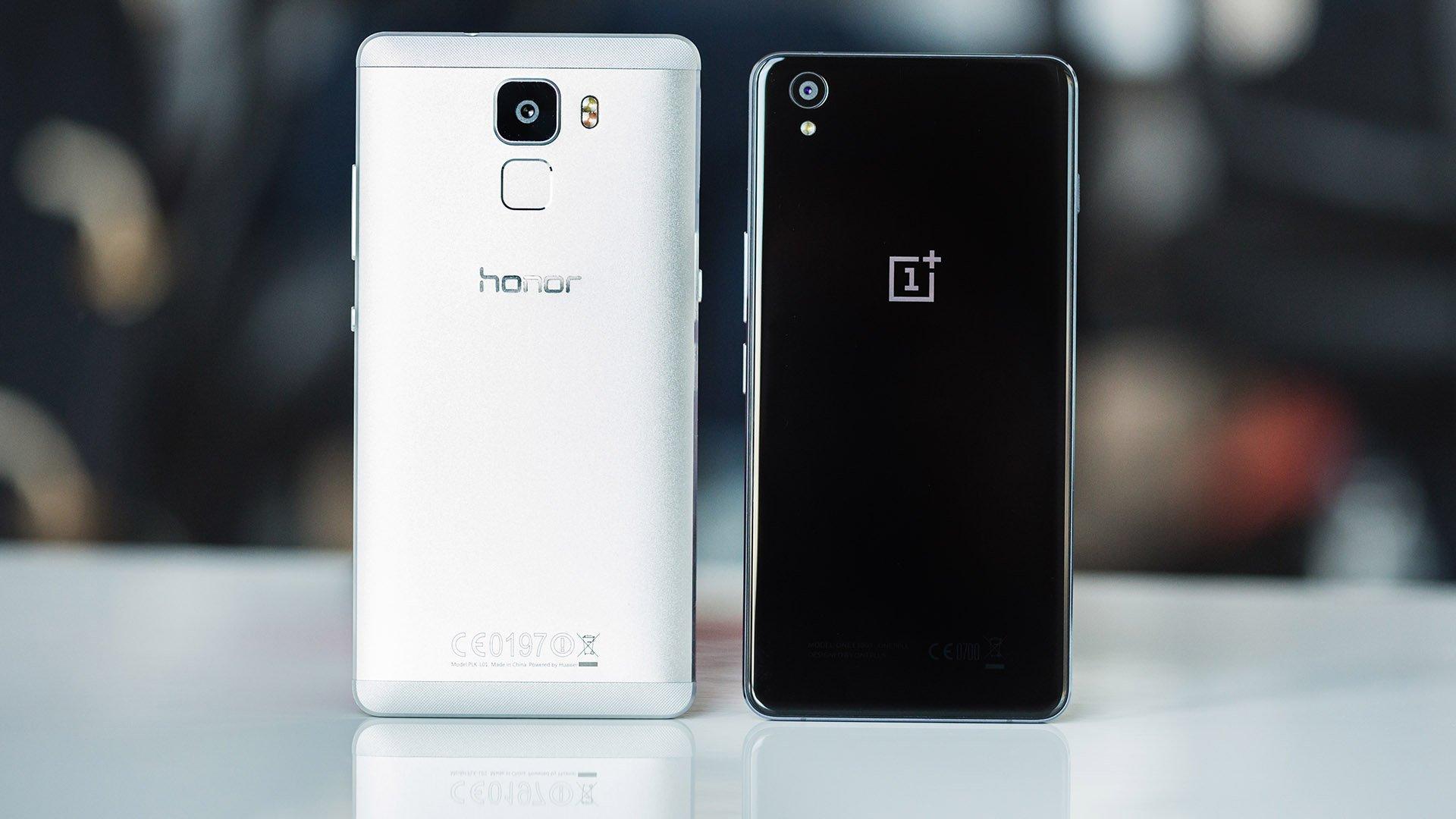 Using Honour Vs Honor: OnePlus X Vs Honor 7 : Le Bras De Fer Chinois