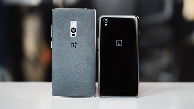 Androidpit Oneplus x vs oneplus 2 1