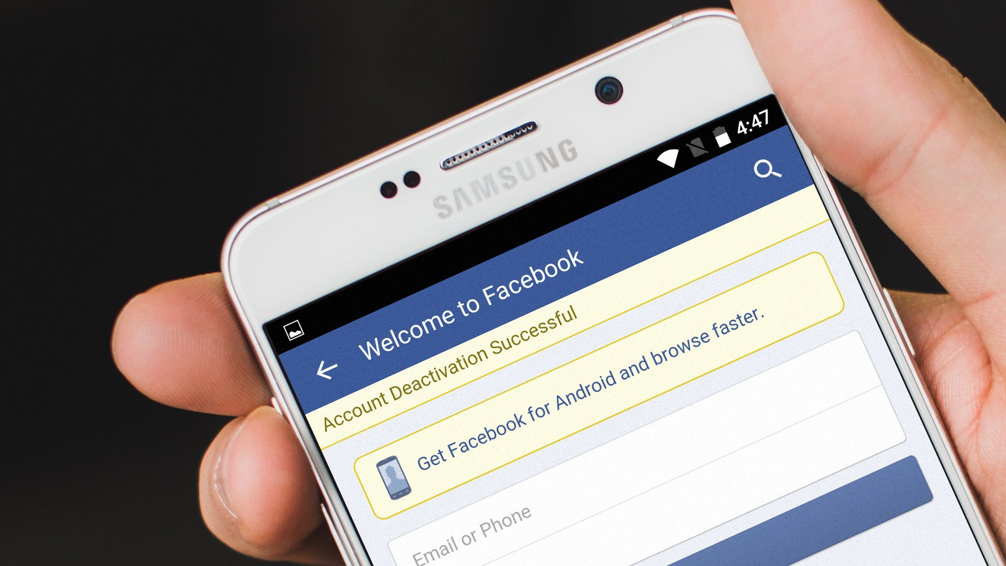 How To Delete A Facebook Account Permanently Androidpit