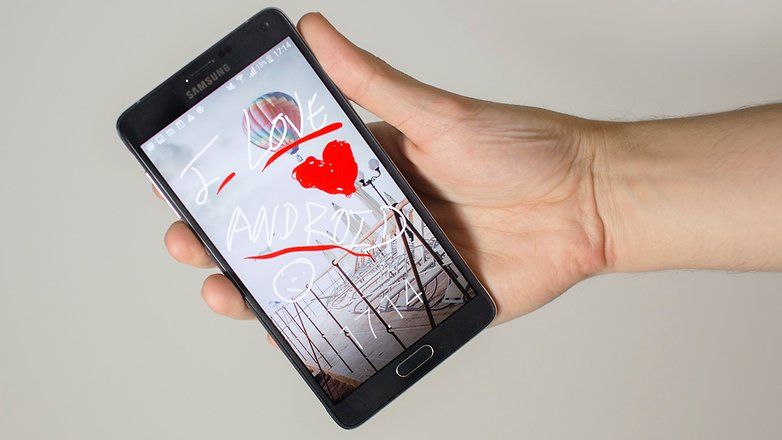 androidpit I love android samsung galaxy Note 4