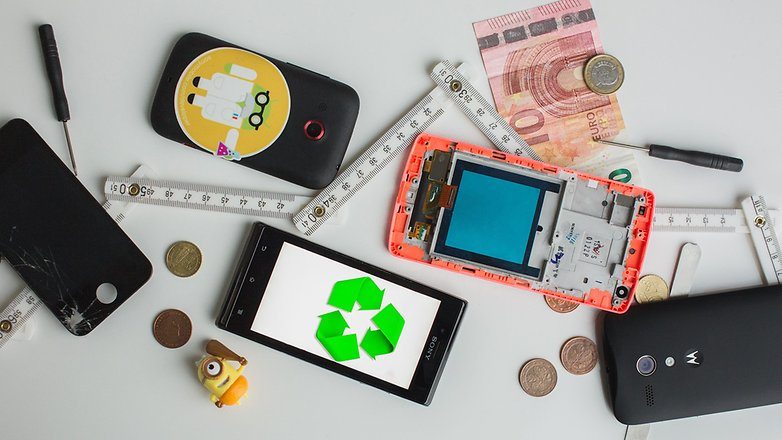 androidpit recycling old smartphones 1