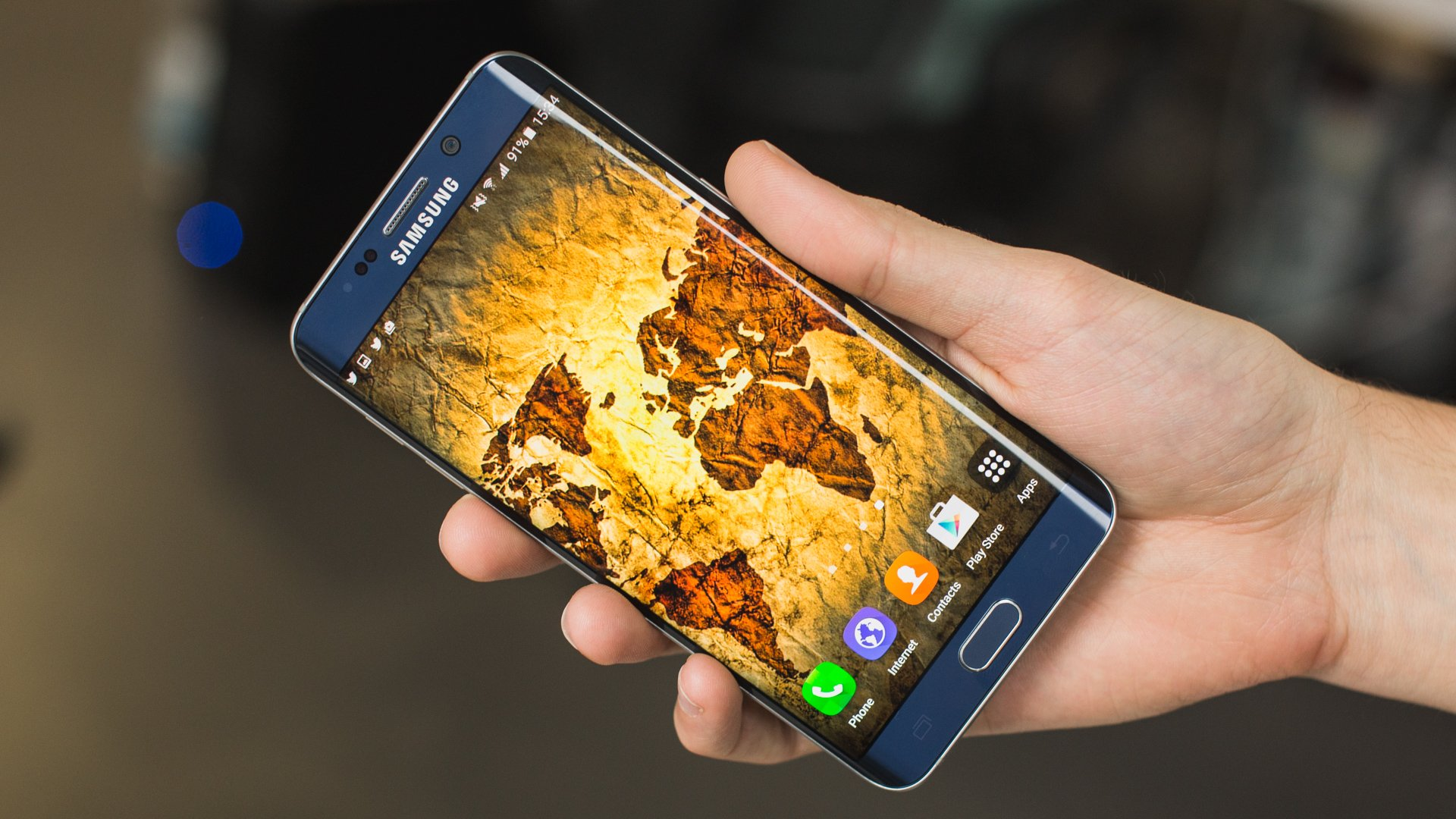 Black Wallpaper For Samsung Galaxy S6 6 Background: Galaxy S6 Edge Review: The High-end Samsung Revolution