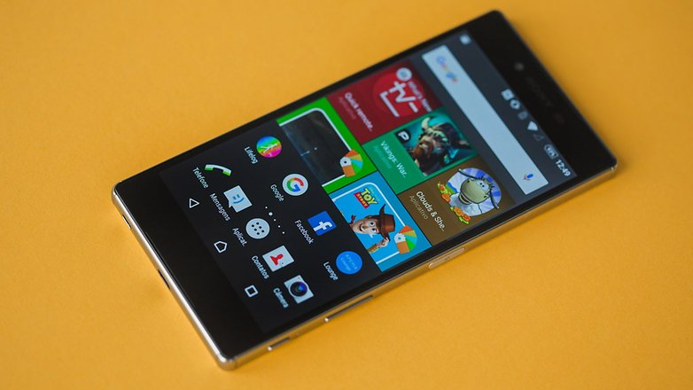 AndroidPIT Xperia Z5 superior 10