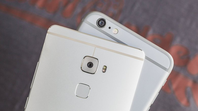 androidpit Huawei Mate S vs iPhone 6 Plus 10